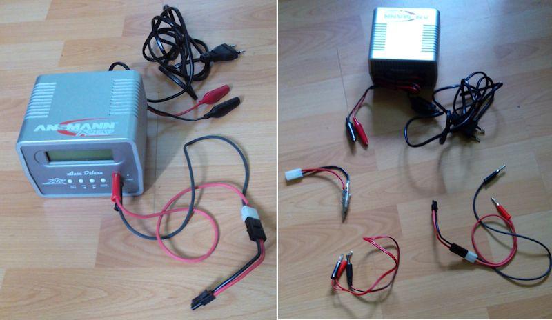 Vide grenier (pièces et accessoires pour répliques) Chargeur-batteries