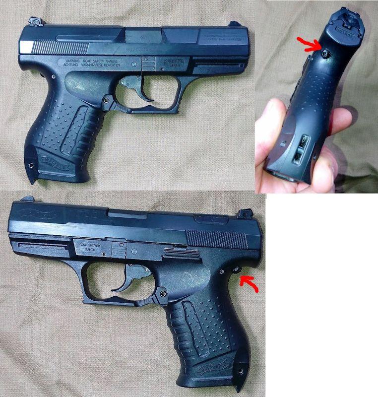 Maruzen P99 GBB P99-maruzen
